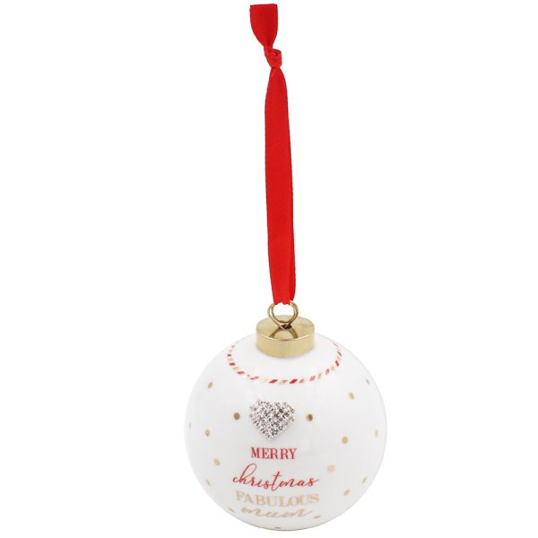 MAD DOTS FAB MUM BAUBLE