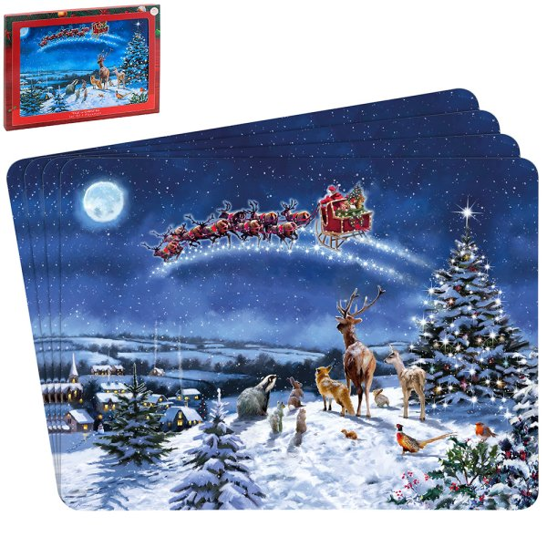 MAGIC OF XMAS PLACEMATS SET 4