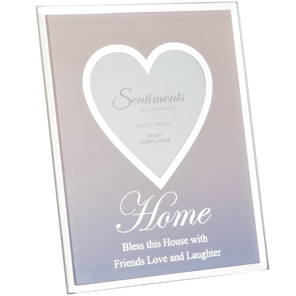 "SENTIMENTS FRAME HOME 3""X3"""