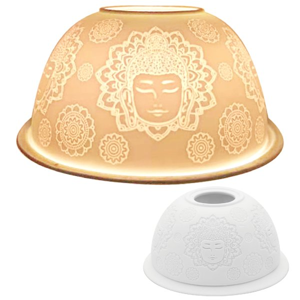 TEALIGHT HOLDER BUDDHA