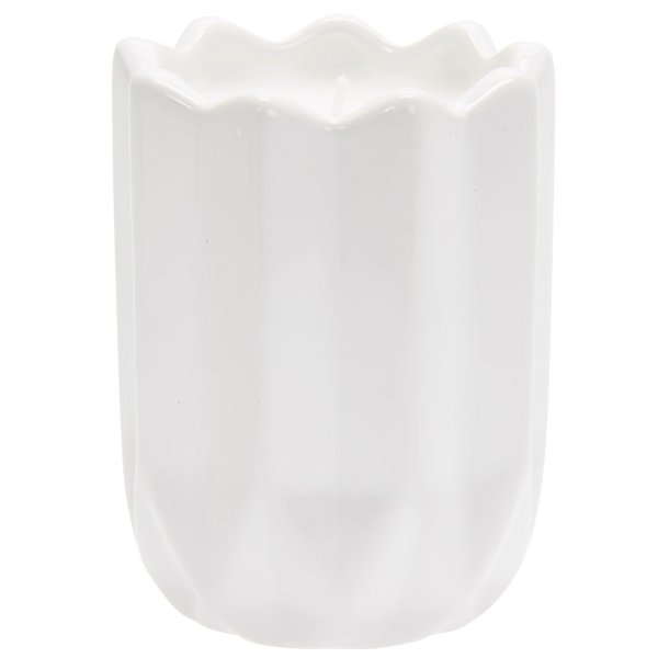 DESIRE GEOMETRIC CANDLE WHITE