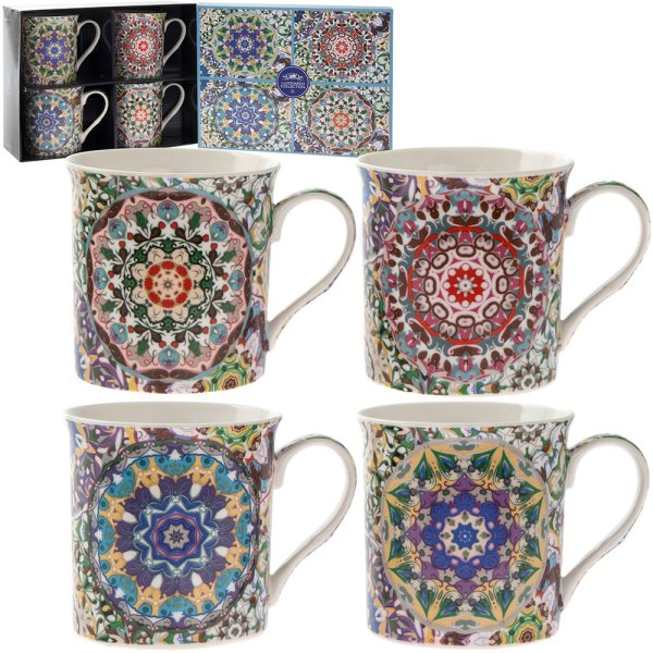 MANDALAY MUG SET OF 4