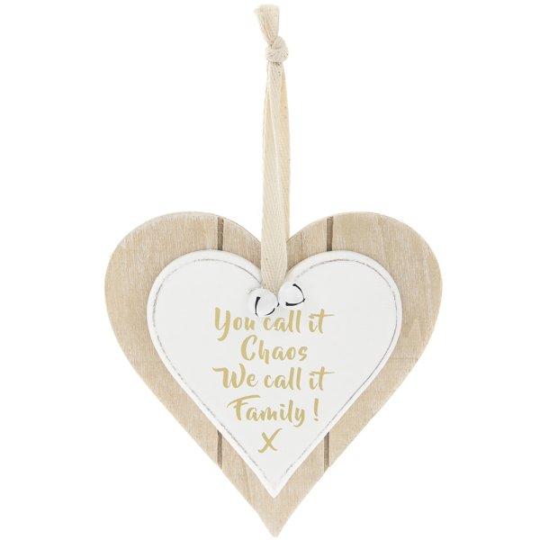 DBL HRT PLQ FAMILY CHAOS