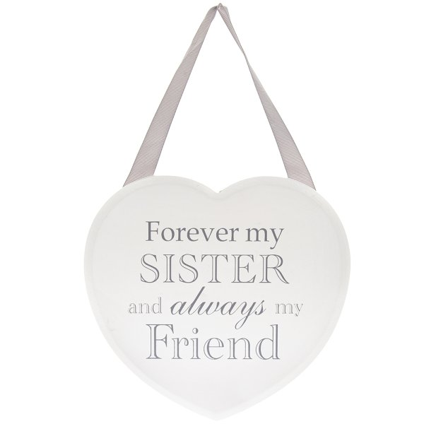 HEART PLAQUE SISTER