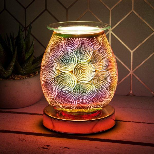 DESIRE AROMA LAMP DOTS ROSE