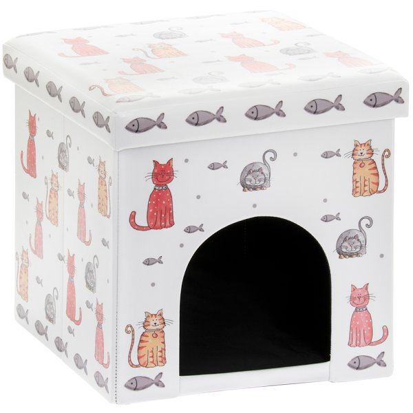 FAITHFUL FRIENDS CAT PET BOX