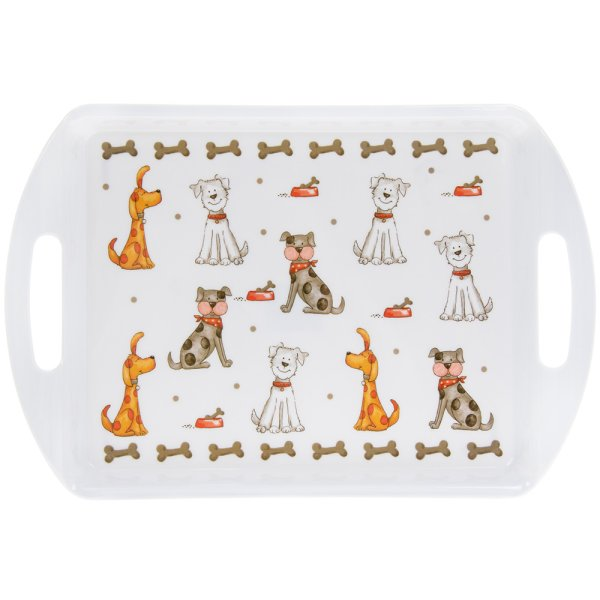FAITHFUL FRIENDS DOG TRAY MED