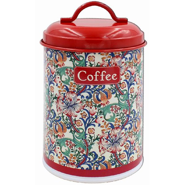 GOLDEN LILY COFFE CANISTER