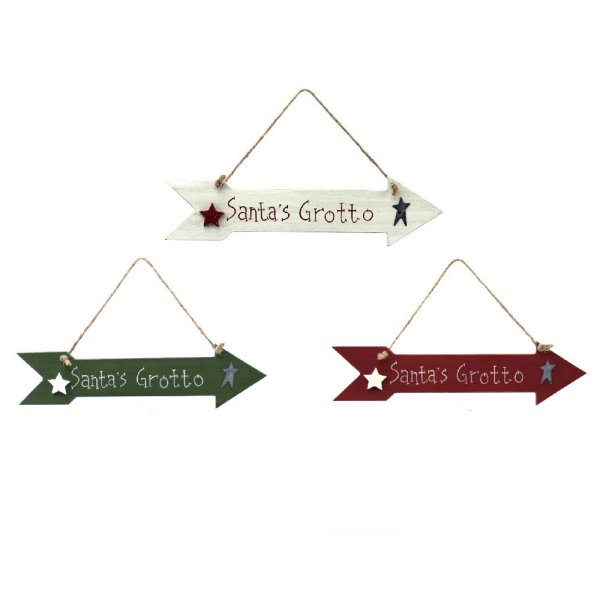 SANTAS GROTTO PLAQUE