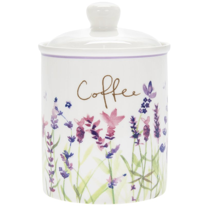 LAVENDER COFFEE CANISTER