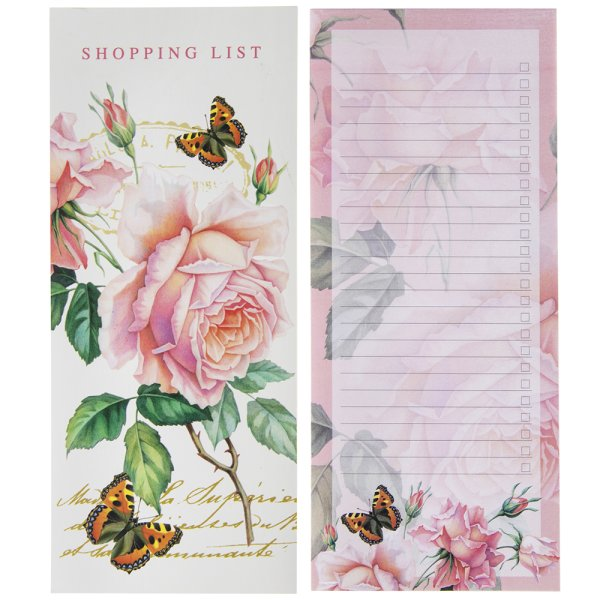 REDOUTE ROSE MEMO LIST