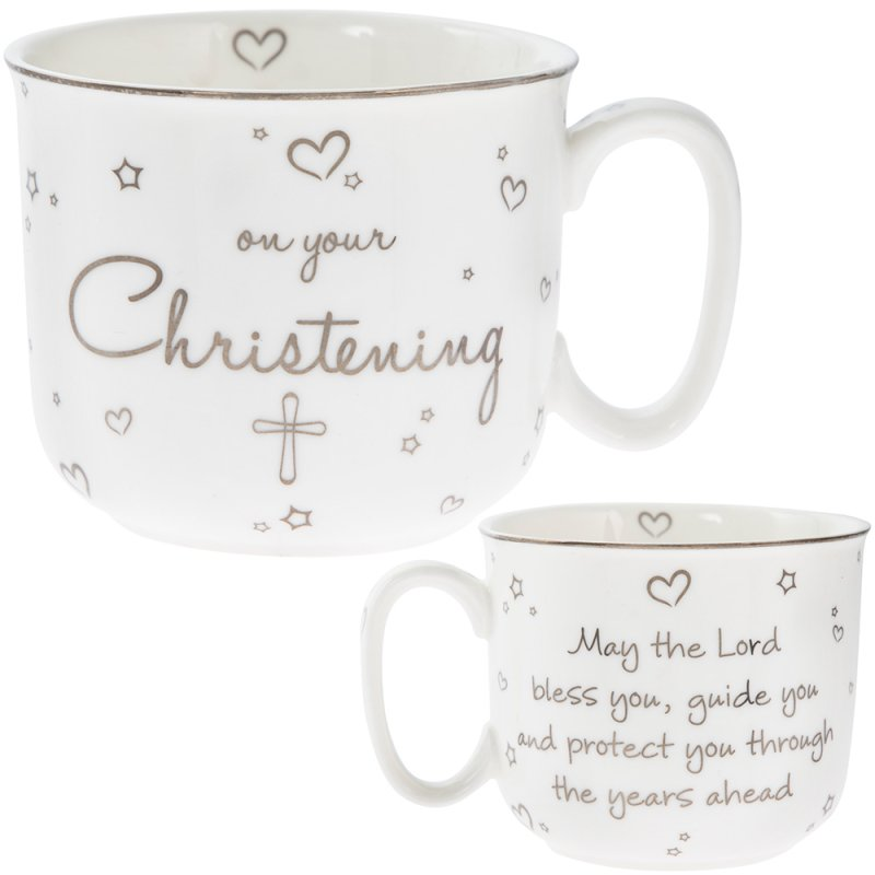 CHRISTENING HANDLED MUG