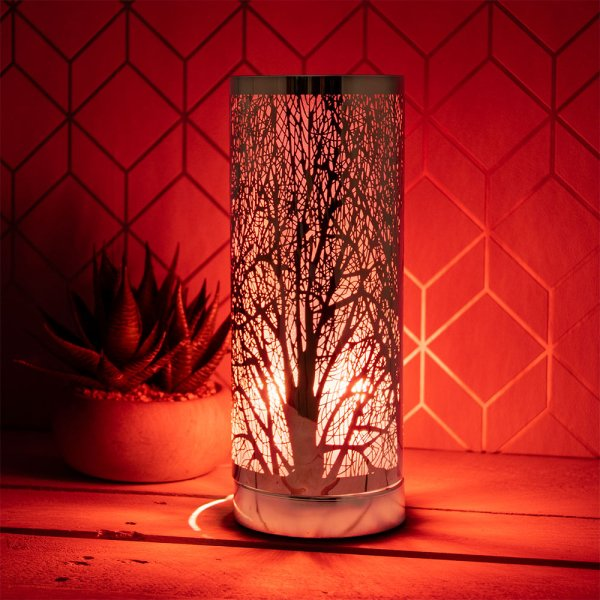 DESIRE AROMA TOUCH LAMP RED