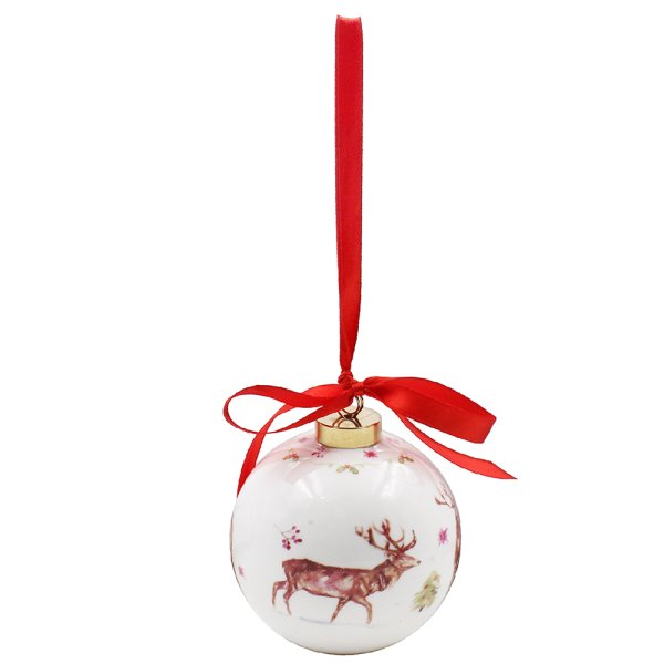 WINTER STAGS BAUBLE