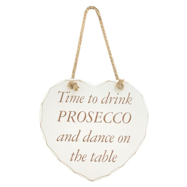 DRINK PROSECCO HANGING PLAQUE