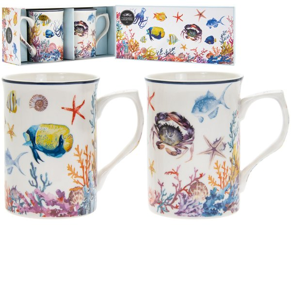 SEALIFE MUGS SET OF 2