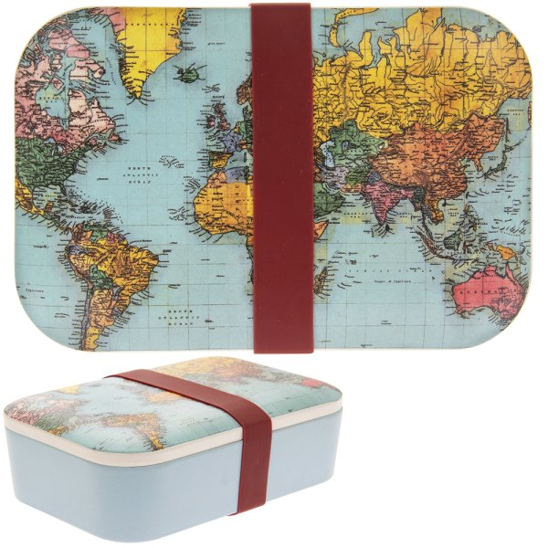 WORLDTRAVELLER BAMBOO LUNCHBOX