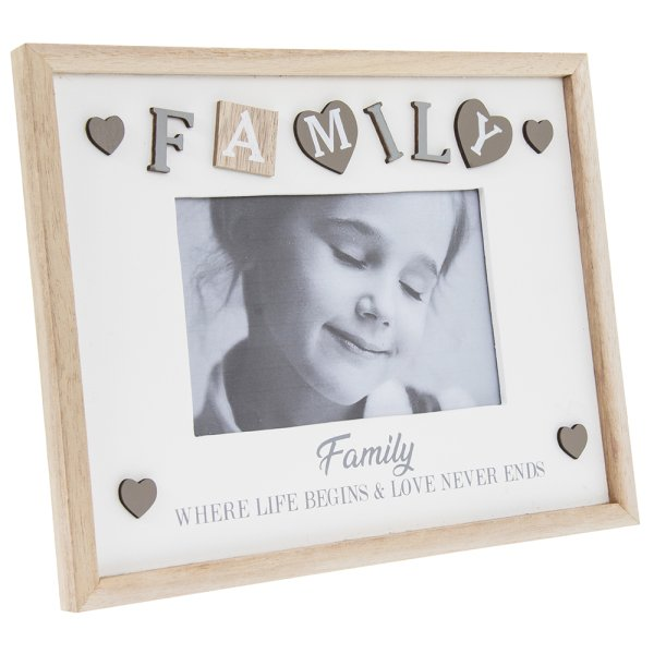 SENTIMENTS FRAME FAMILY 4X6""