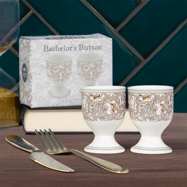BACHELORS BUTTON EGGS CUPS