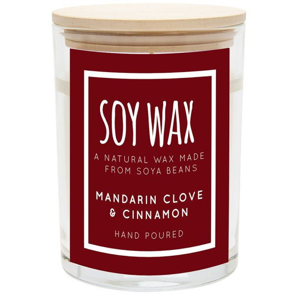 DESIRE SOY CANDLE MAND&CINN L