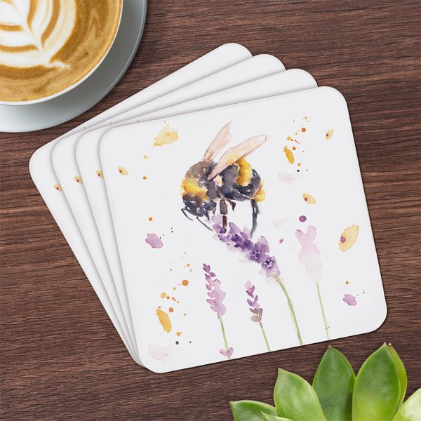 COUNTRY LIFE BEE COASTERS S4