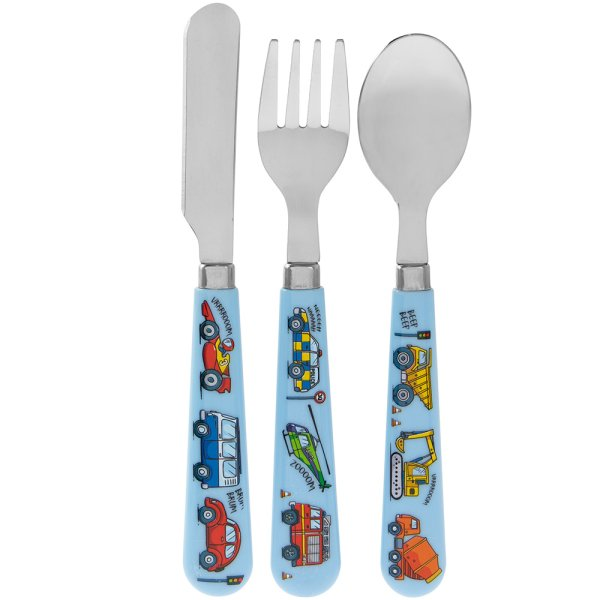 LITTLE STARS VEHICLES CUTLERY
