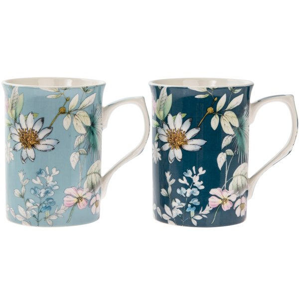 DAISY MEADOW MUGS SET OF 2