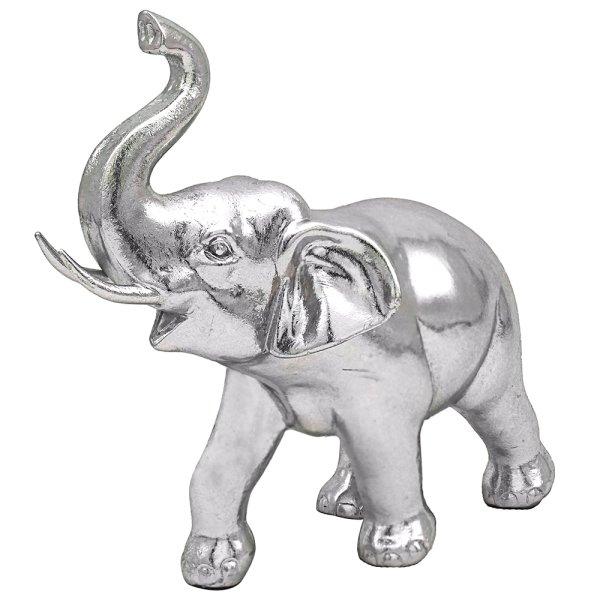 SILVER ART ELEPHANT STANDING