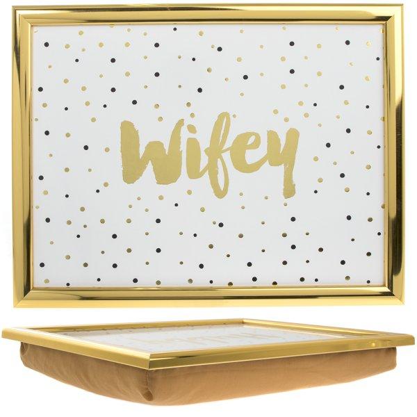 WIFEY LAPTRAY