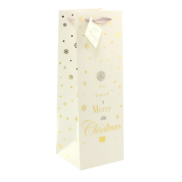 MADDOTS M'XMAS GIFT BAG BOTTLE