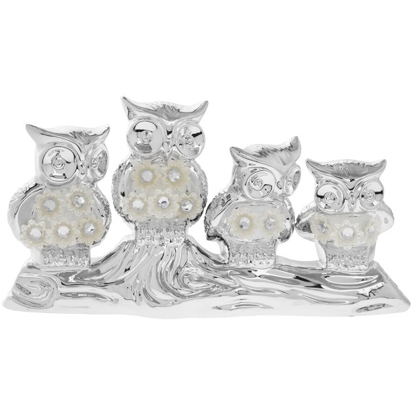 SILVER MILLE OWL FAMILY SM