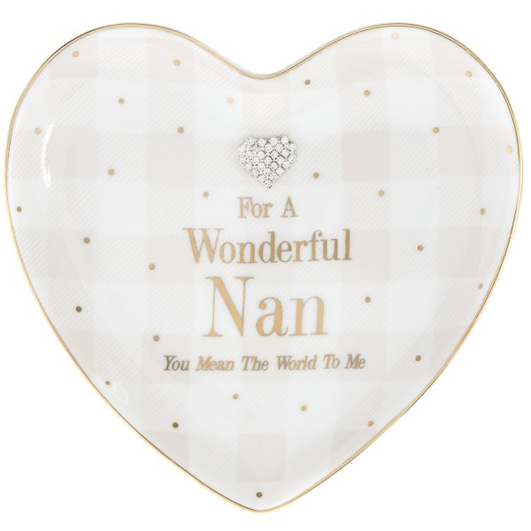 MAD DOTS NAN HEART DISH