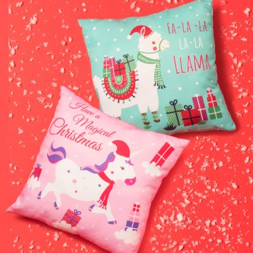 CHRISTMAS SEQUIN GIFTS, CUSHIONS & DOORS