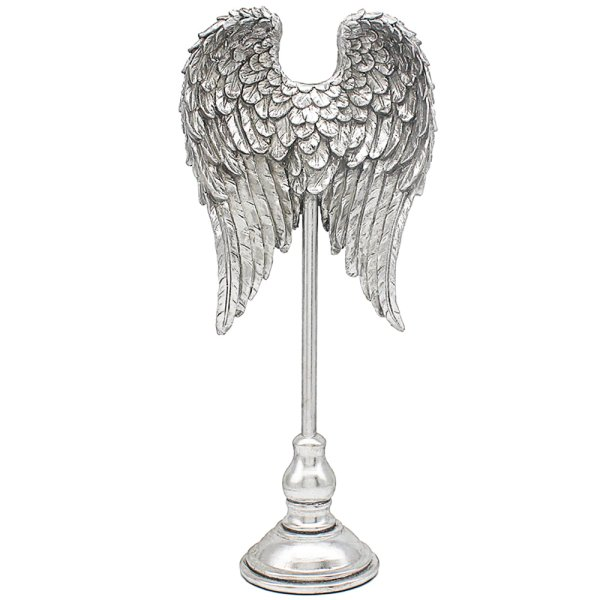 SILVER ART ANGEL WINGS 17.5""