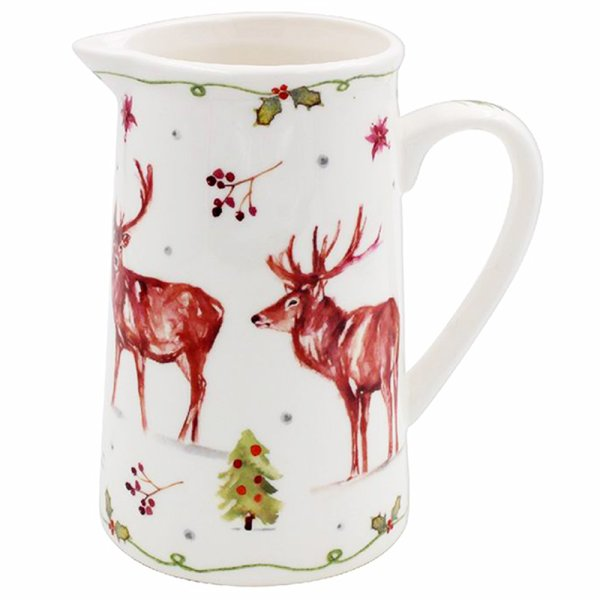 WINTER STAGS JUG MEDIUM