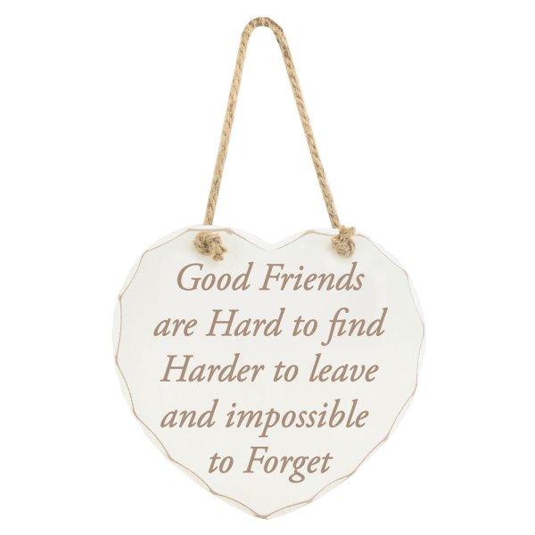 GOOD FRIENDS R HARD 2 FIND PLQ