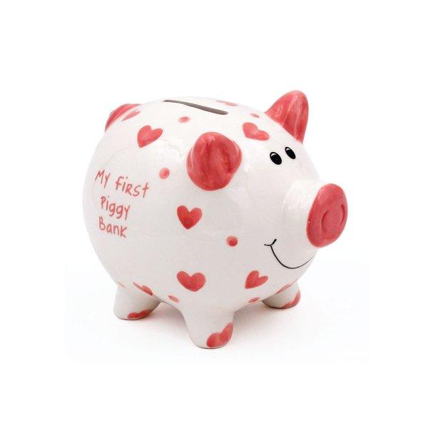 MY FIRST PIGGY BANK PINK