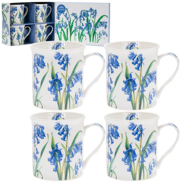 BLUEBELL MUGS SET 4