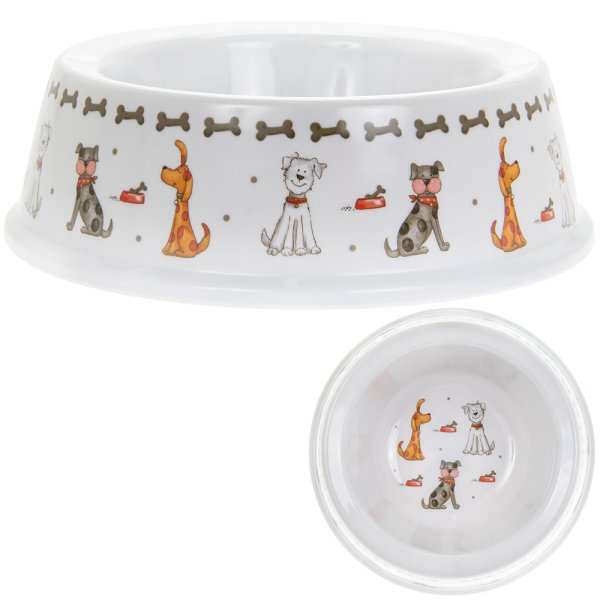 FAITHFUL FRIENDS DOG BOWL
