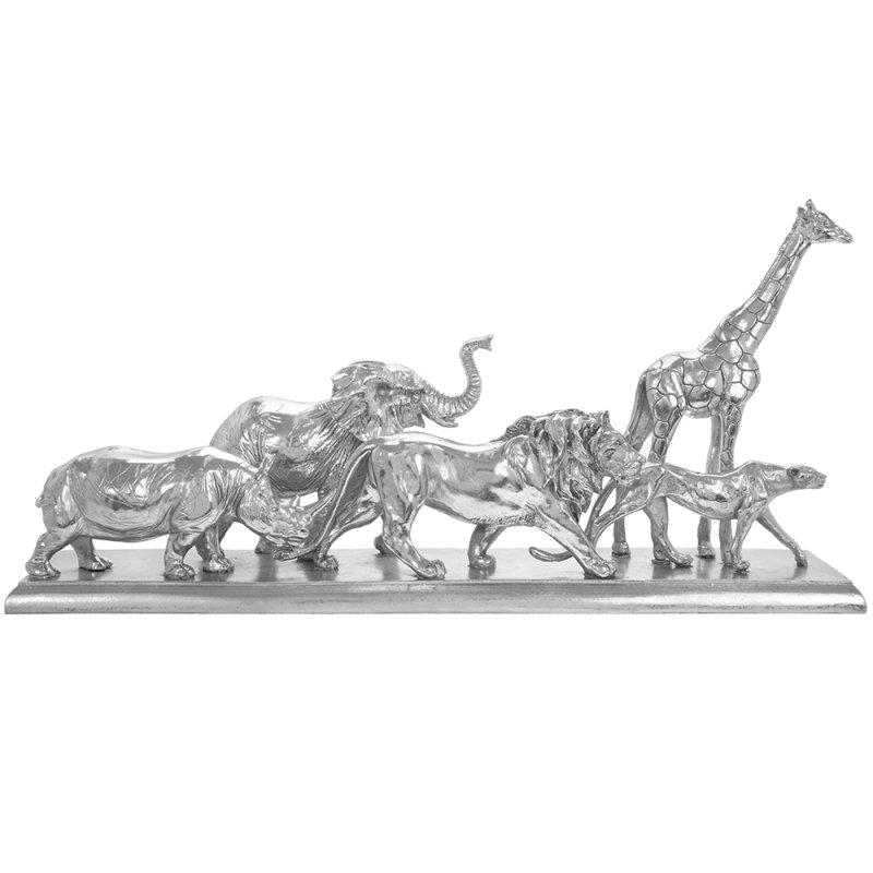 SILVER ART ANIMAL KINGDOM