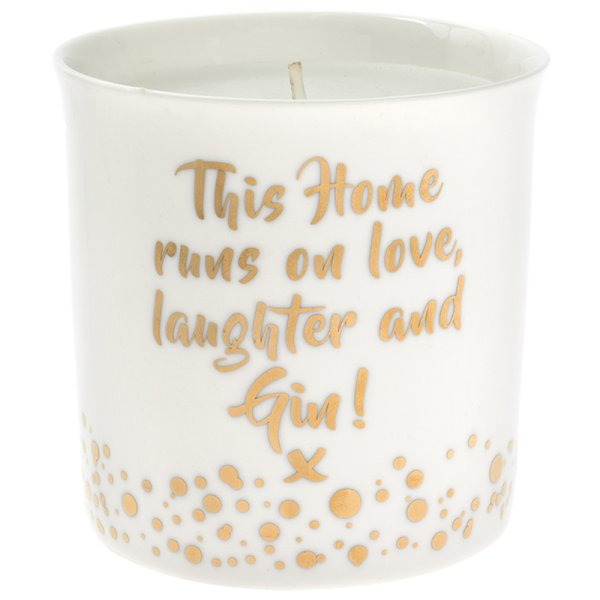 GIN & FLORAL CANDLE
