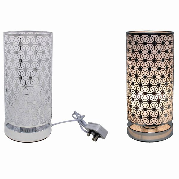 SILVER TOUCH LAMP STAR