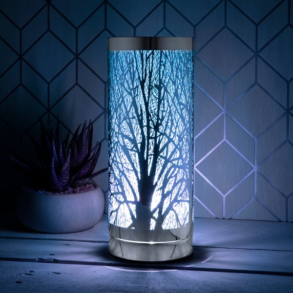DESIRE AROMA TOUCH LAMP SILVBL