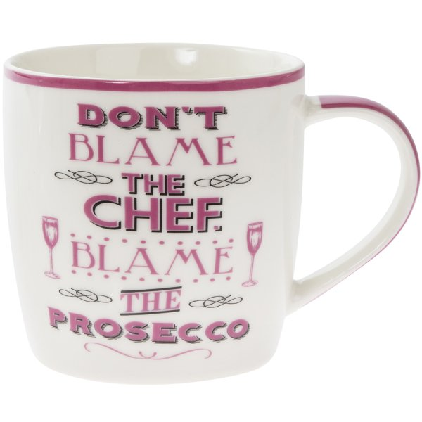 BLAME THE PROSECCO MUG