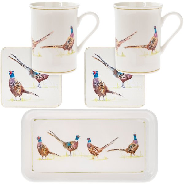 PHEASANT 5 PIECE GIFT SET