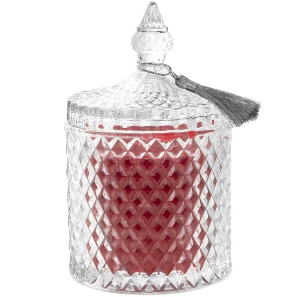 DESIRE RED CINNAMON CANDLE JAR