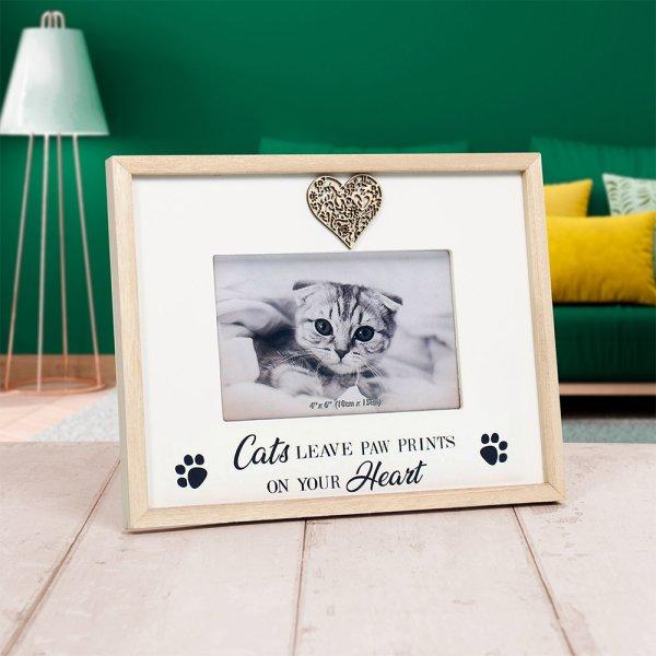 SENTIMENTS FRAME CAT 4X6
