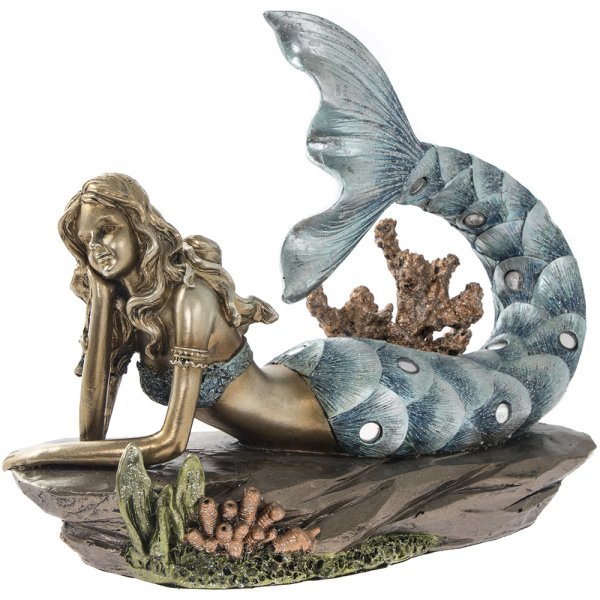 EXOTIC ART MERMAID LYING 6""