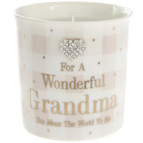 MAD DOTS GRANDMA CANDLE