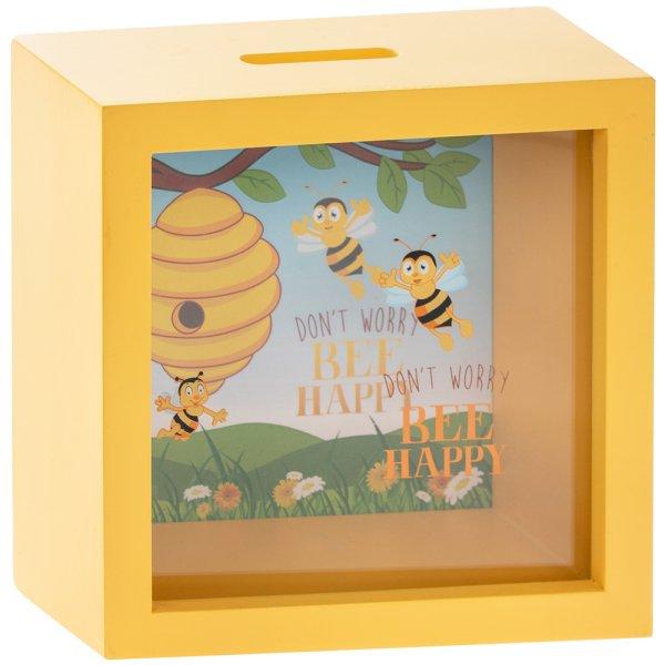BEE HAPPY MONEY BOX